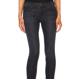 Current/Elliott Black Wash The Stiletto Jeans 28